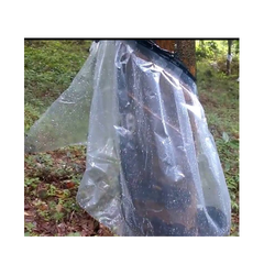 Transparent Plastic Rain Guard Film, Packaging Type: Bundle
