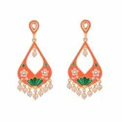 Jaipuri Meenakari Earring