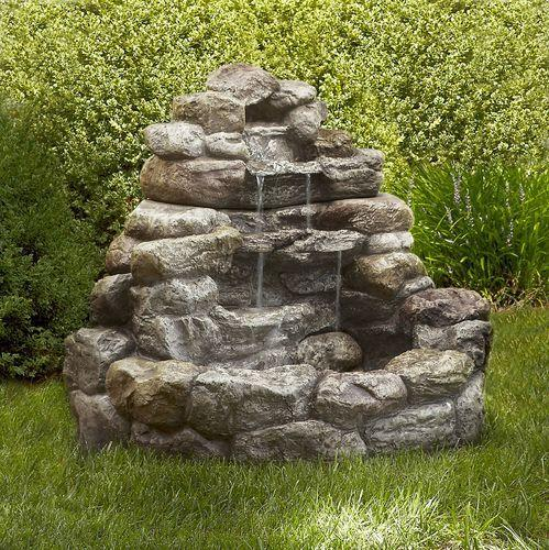 Charmant Stone Garden Fountain