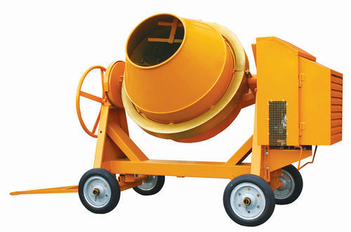 Reverse Concrete Drum Mixer