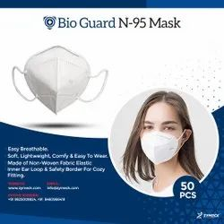 BIO-GUARD Disposable N 95 MASK, Without Valve, Certification: Standard