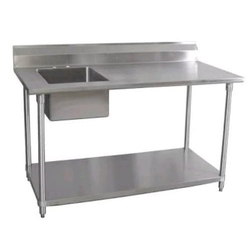 Stainless Steel Table Sink, Size: 2X2 Feet