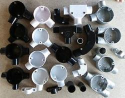 PVC Electrical Fitting, Size : 16mm - 200mm