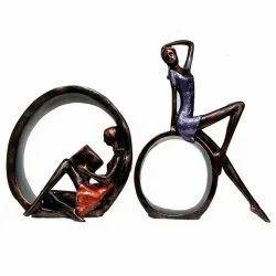 Girls Pair Statue