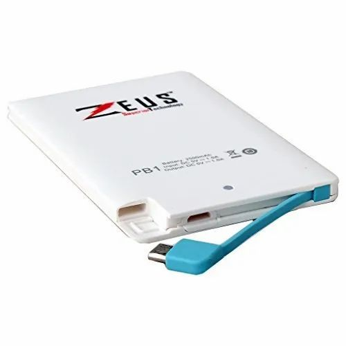 Zeus PB1 2500 mAh Powerbank - Credit Card - Shopdug, Madurai