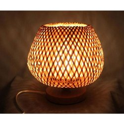 Decorative Bamboo Table Lamp