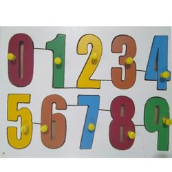 Number Puzzle Tray