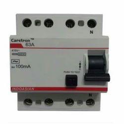 Indoasian 63 Amp 4 Pole RCCB
