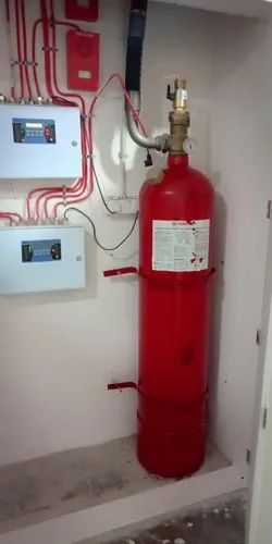 Automatic Room Gas Flooding System