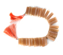 Peach Moonstone Fancy (Sticks) Faceted Beads, Moonstone Rectangle Beads