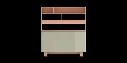 Wide Cabinet - Ridge Wide Cabinet