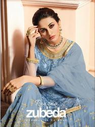 Zubeda Ranzana Party Wear Sharara Suit