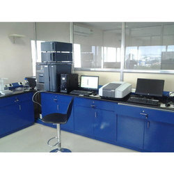 Annapurna Blue Laboratory Workstation, For Schools, Hospital Etc