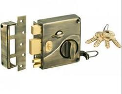 Hardwyn Godrej Door Locks, Bronze