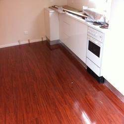 Dark Laminate Wooden Flooring