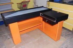 Orange Cash Table