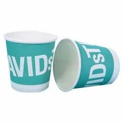 White Greenco Medical Disposable Printed Paper Cup, Packet Size: 40, Size: 35-50ML