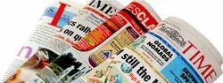 Newspaper Advertise