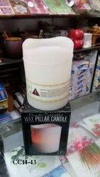 Hollow Candle 3 X 3 Color Changing