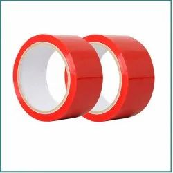 Red Adhesive Tape