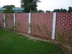 Cement Precast Boundary Wall