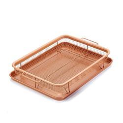 Non-Stick Baking Frying Tray & Basket (278-15)