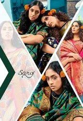 Saroj Designer Shivanjali Vol-2 Weaving Silk Saree