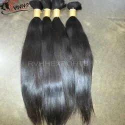 Unprocessed Virgin Indian Bulk Hair