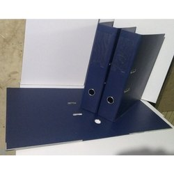 Blue PVC Box File