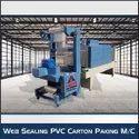 Web Sealing PVC Carton Packing Machine