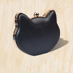 Cat Shape Box Clutch Frame