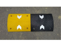 Speed Breaker with Reflective Arrow