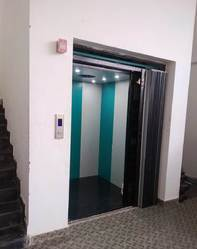Merrit Goods Lift - Ms Powder Coated Cabin With IFG Door