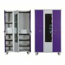 Ambika Mild Steel Three Door Cupboard, For Home, Size: 78*46*20 Inch