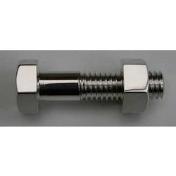 Stainless Steel Half Thread Hex Head Machine Bolt, Packaging Type: Box