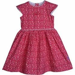 Emmy Apparels Casual Wear Kids Cotton Printed Frock