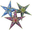 Christmas Stars Set of Three - Mini Sizes