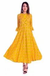 CAUSEL musted long gown
