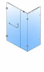 173 SG Wall to Wall Fixed 1 (2100 450) Door (2100 750) Fixed 2 (2100 1200) Glass Shower Cubicle
