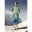 Ladies Printed Rayon Long Kurti
