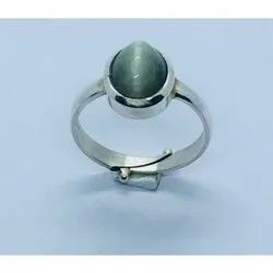Cat's Eye Ring In Silver