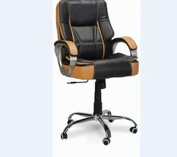 Low Back Executive Chair Chrome Base