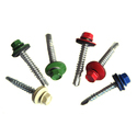 Color Head Self Drilling Screw