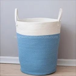 High Quality Cotton Rope Storage Basket