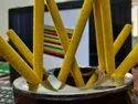 Sahjanand Enterprise Yellow Velvet Pencil