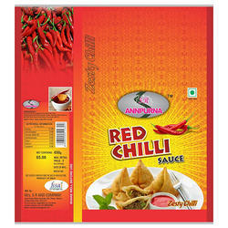 Food Product PVC Label