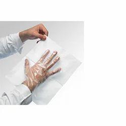 Vinyl White EVA Gloves