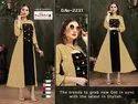Chanderi Silk A Line Kurti With Jacket