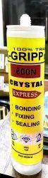 K-Gripp 600n Crystal Clear Silicone Sealant
