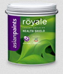 Asian Royale Health Shield Wall Paint, Packaging Type: Bucket
